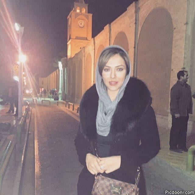 عکس لیلا اوتادی در اصفهان