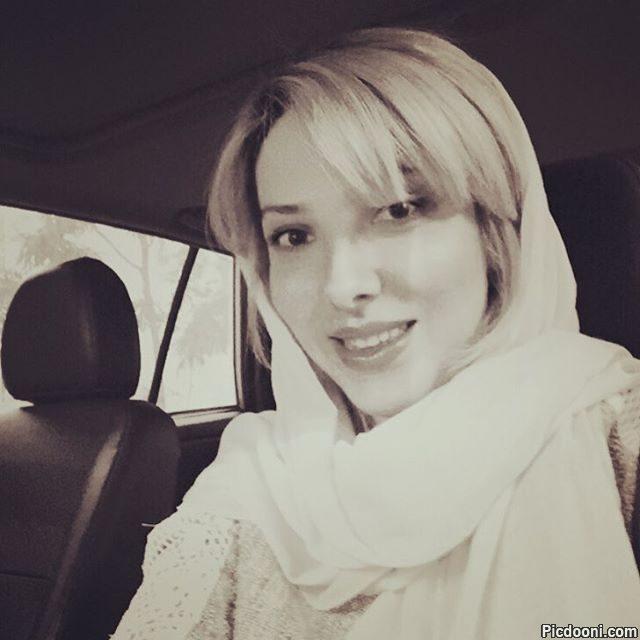 عکس سلفی لیلا اوتادی در ماشین