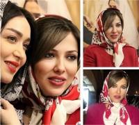 عکس لیلا اوتادی در مراسم سریال شهرزاد