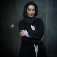 عکس لیلا زارع در اکران فیلم شیفت شب