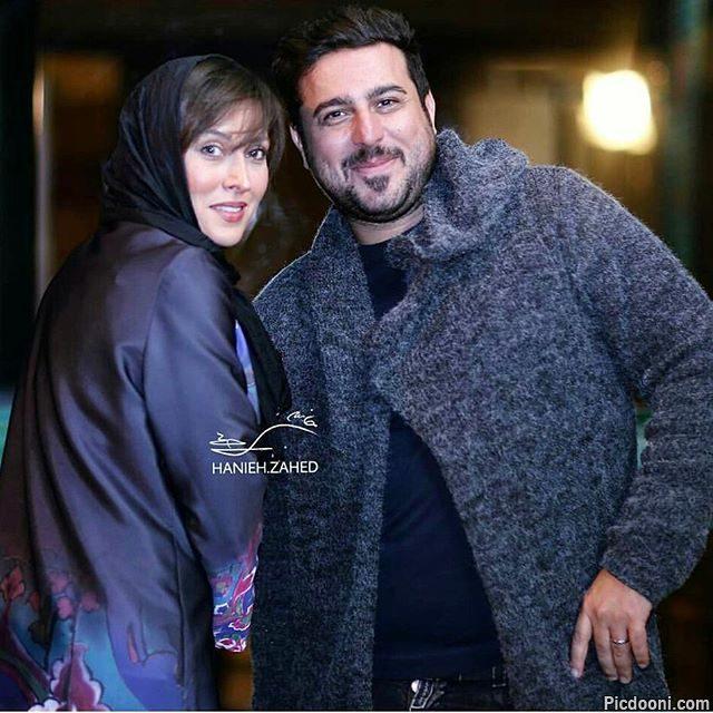 عکس مهتاب کرامتی و محسن کیایی در جشن منتقدان