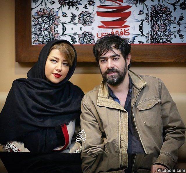 عکس شهاب حسینی و همسرش در اکران فیلم چهارشنبه