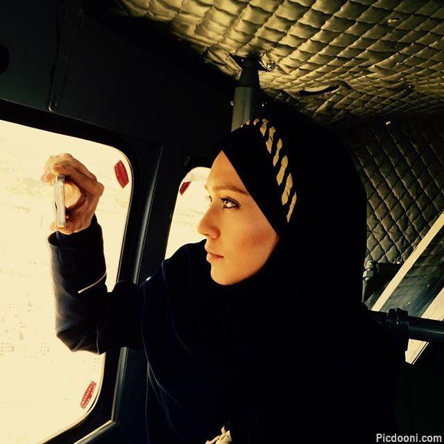 عکس شهرزاد کمال زاده در سریال آمین