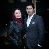 عکس شیلا خداداد و همسرش در شب تولدش