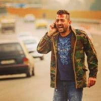 عکس بهرام رادان در فیلم بارکد