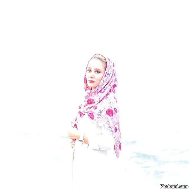 عکس جدید الناز حبیبی - آذر 94