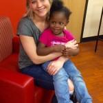 عکس های جنیفر لارنس در بیمارستان کودکان
