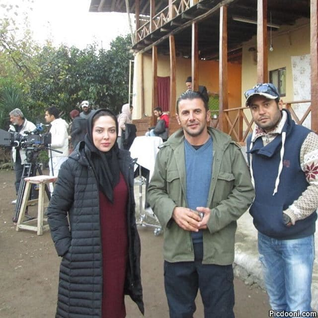 عکس امین حیایی و لیلا اوتادی در فیلم ناردون