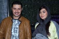 عکس جدید مریم معصومی با جواد عزتی