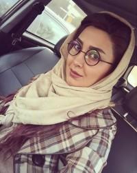 عکس سلفی جدید مریم معصومی در ماشین با عینک