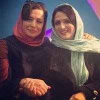 عکس مهراوه شریفی نیا با گلاره عباسی