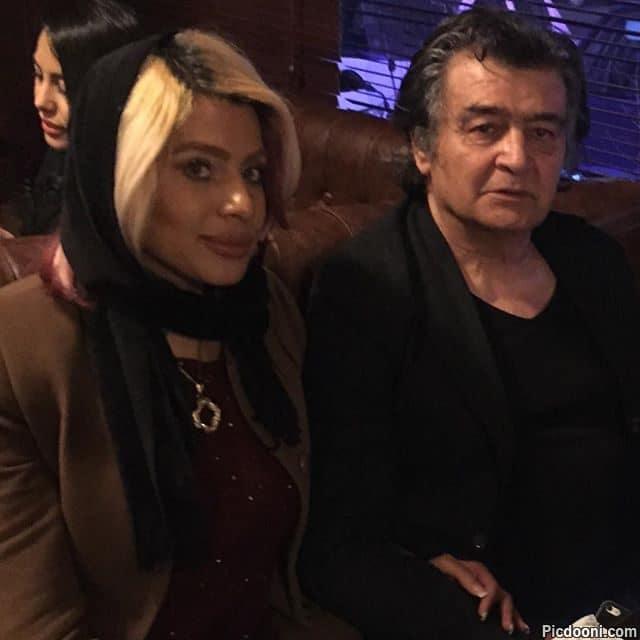 عکس جدید رضا رویگری با همسرش