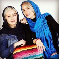 عکس های آتلیه ای جدید سحر قریشی با سمانه پاکدل