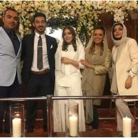 عکس عروسی رضا قوچان نژاد با خواهر ساره بیات