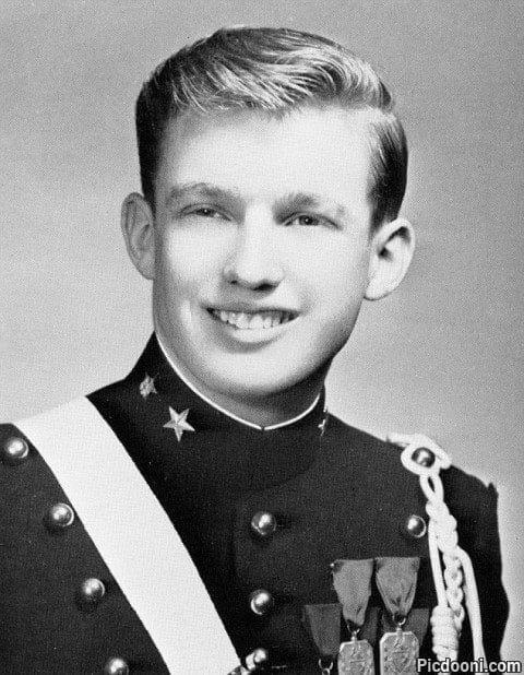 عکس جوانی دونالد ترامپ
