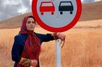 آرزو نبوت سر صحنه سریال علی البدل