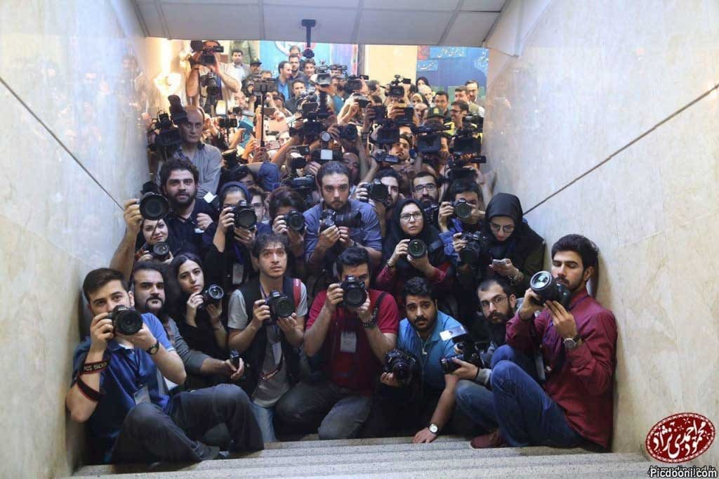 خبرنگاران، در هم و بر هم