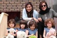 عکس سارا بهرامی و سحر دولتشاهی و ۴ دختر خوشگل
