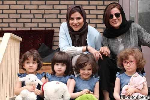 سارا بهرامی و سحر دولتشاهی و ۴ دختر خوشگل