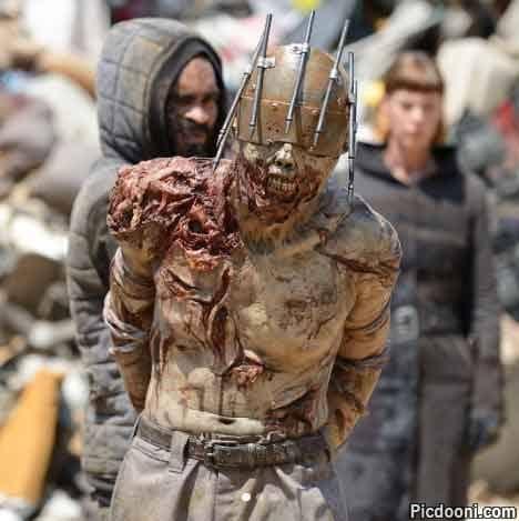 عکس زیبایی از یک مرده متحرک