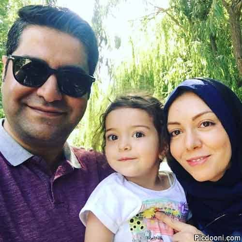 عکس خانوادگی آزاده نامداری