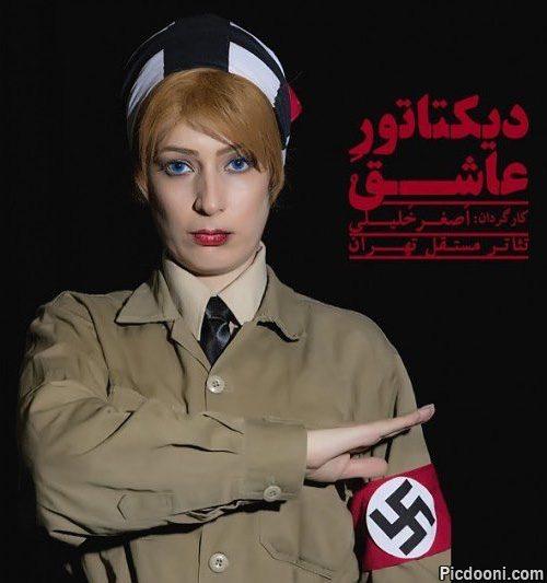 غزاله جزایری در لباس نظامی