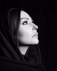 عکس سیاه و سفید پرستو صالحی