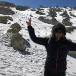 ویشکا آسایش صعود به قله دماوند