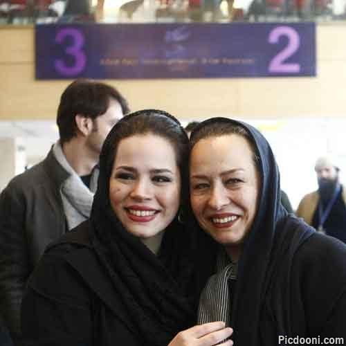 عکس ملیکا شریفینیا و آزيتا حاجیان