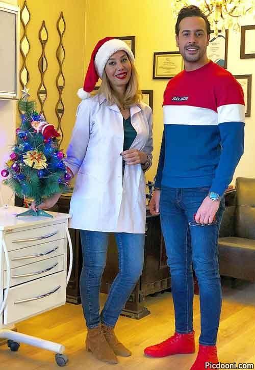 عکس رنگی ایلیا کیوان و دندانپزشکش
