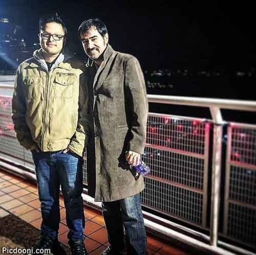 شهاب حسینی و پسرش و حرف مردم